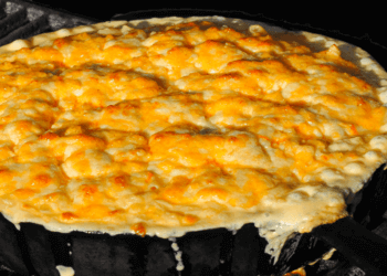 Baked Mac and Cheese Recipe for the Smoker or Grill